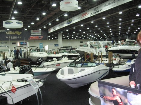 Macomb County anticipates the Detroit Boat Show
