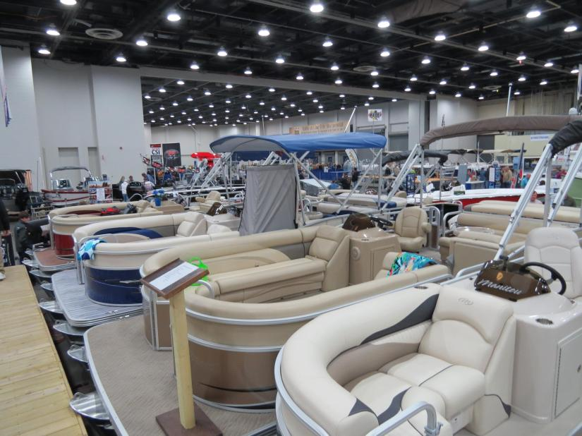 Business and recreational opportunities on display at the Detroit Boat Show