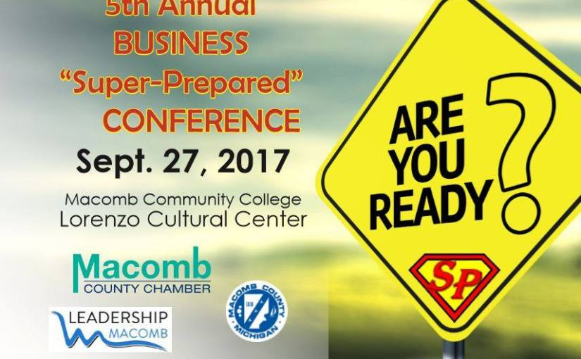 There is still time to participate in the 5th Annual  Business Super Prepared