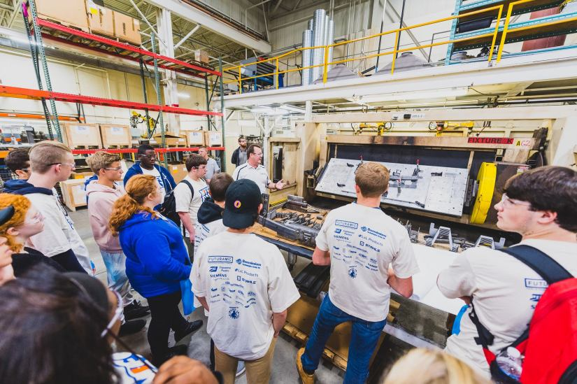 Manufacturing Day gives students behind-the-scenes access to local plants andfactories