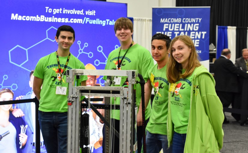 The U.S. Army is modernizing. Here's how local FIRST Robotics students will one day help.