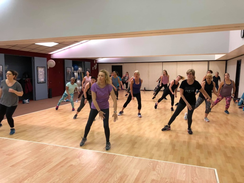 Getting fit while having fun at Mount Clemens Jazzercise